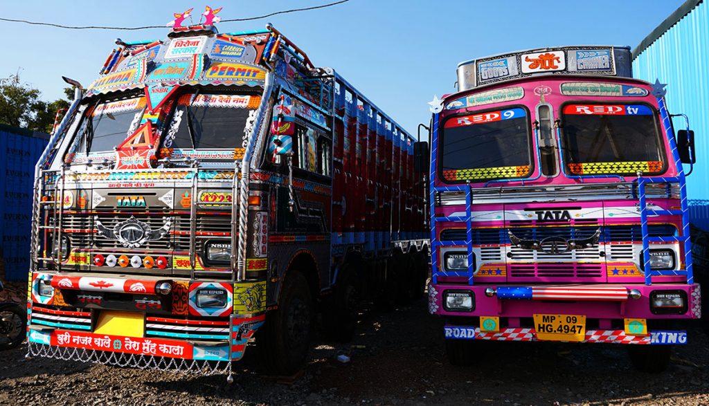 Sajawat - A Study of Truck Art in India